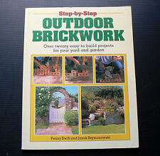 Build your own brick BBQ driveway patio path stairs pond arch garage building a