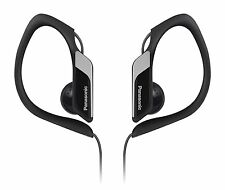 Panasonic RP-HS34 Water/Sweat Resistant In Ear Sports Headphone - Black