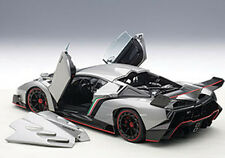 Autoart LAMBORGHINI VENENO GENEVA SHOW CAR 2013 GREY 1/18 Scale New! In Stock!