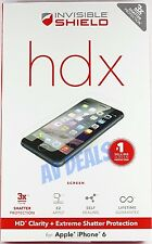 ZAGG InvisibleShield HDX Extreme for iPhone 6, 6s (4.7) AUTHENTIC w/ Warranty