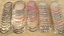 Joblot of 60 Pairs Mixed lot Metal Hoop Earrings - NEW Wholesale lot 2