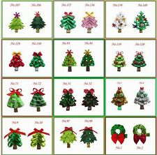 400 Good Girl Bug Bow Clip Turkey Pumpkin Reindeer Christmas Tree Spider Ghost