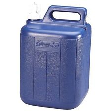 Coleman Jug With Water Carrier 5 Gallons Blue New