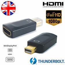 FULMINE MINI DISPLAYPORT DP A HDMI Adattatore convertitore da Apple Macbook Pro Air