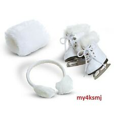 American Girl Molly's ICE SKATES EAR MUFFS MITT Molly DOLL & OUTFIT NOT INCLUDED