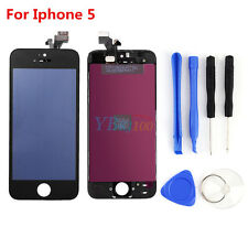 3C4 Black LCD Display Touch Screen Digitizer Assembly Replacement For iPhone 5
