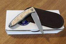 CHRIS REEVE New Left Hand Box Elder Mnandi Gent's Knife S35VN Bld Knife/Knives