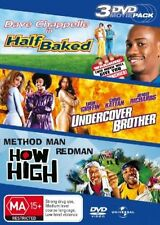 HALF BAKED / UNDERCOVER BROTHER / HOW HIGH 3 Disc DVD R4