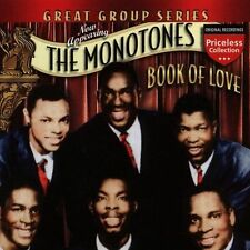 Book of Love by The Monotones (CD, Mar-2006, Collectables)