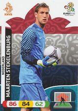 MARTIN STEKELENBURG # NETHERLANDS CARD PANINI ADRENALYN EURO 2012