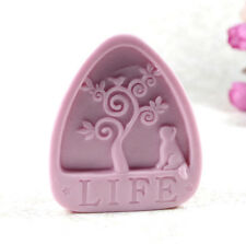 Life Tree S482 Silicone Soap molds Craft  DIY Handmade soap Mold Mould