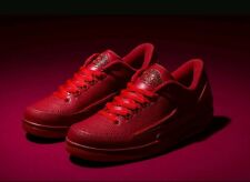 Nike Air Jordan 2 Retro Low Size 13 UK BNIB Authentic Genuine Red 2016 5 6 3