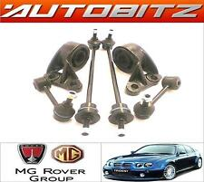 FITS ROVER 75 MG ZT FRONT WISHBONE ARM BUSHS & FRONT & REAR STABILISER LINKS