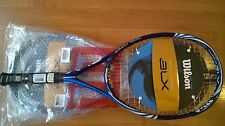 NEW(-70%)Wilson BLX Tidal Force Racquet,BASALT,105,BEAUTIFUL,GRIP L 3(4 3/8)