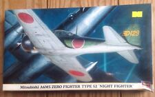 Hasegawa 09543 Mitsubish A6M5 Zero Fighter 1:48 New Sealed Plastic Model Kit New