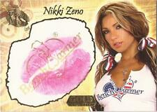"Benchwarmer 2007 Gold Edition - 9 of 24 ""Nikki Zeno"" Kiss Card"