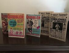 NEW Lot 5 CUSTOM Set For Fan Harry Potter & American Girl Daily Prophet Quibbler