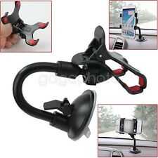 Auto Car Windshield 360° Rotating Phone GPS Mount Suction Cradle Stand Holder