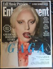 Entertainment Weekly Lady Gaga Magazine Cover 'American Horror Story'