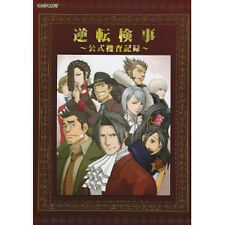 Gyakuten Saiban  Art Book Visual book DS Ace Attorney Ace Attorney Investigation