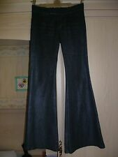 "GUESS Gun Metal Dark Grey Jeans Trousers, Label Size 30"" Size 10 Approx"