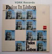 FADOS IN LISBON - Various - Excellent Condition LP Record Polydor 2482 012