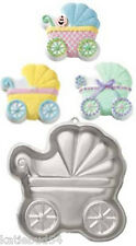 WILTON Baby BUGGY Carriage Shower FUN CakePan 2105-3319