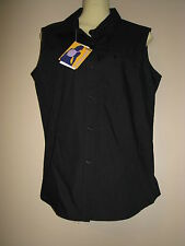 Misty Mountain Performance Activewear Women's Black Sleeveless Shirt - Small NWT