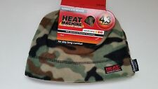 MENS BEANIE HAT HEAT MACHINE THINSULATE  FOREST CAMO ONE SIZE 4.3 TOG