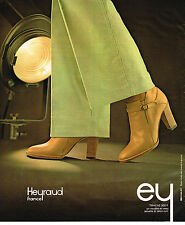 PUBLICITE ADVERTISING 035  1978  HEYRAUD   collection bottes boots TRACAS