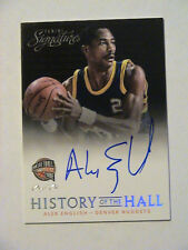 2013-14 Panini Signatures Alex English Denver Nuggets USC Gamecocks Auto 1/1