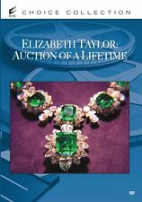 ELIZABETH TAYLOR: AUCTION OF A LIFETIME  Region Free DVD - Sealed