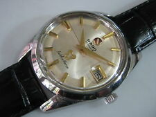 Classic RADO GOLDEN HORSE Automatic Date Men's Watch 70's Nice Condition