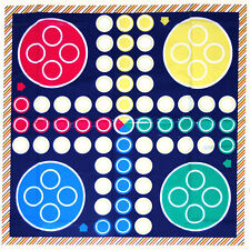 NEW GIANT LUDO FAMILY FLOOR PLAYMAT GAME BOYS GIRLS KIDS TRADITIONAL