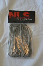Replacement Kite Dyneema Line, 2.5mm, 5meters, Leader/safety Line - Grey