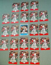 20x 2008 UD Timeline SILVER   JACOBY ELLSBURY (XRC's) #222 (SSP's)+ 2007 Futures