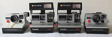 4 Polaroid Instant Film Land Cameras: 2 Sun 600 LMS, OneStep & Pronto! B