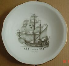 Rörstrand Collectors Plate WITH COMPLIMENTS OF SVENSKA ORIENT LINIEN 1600
