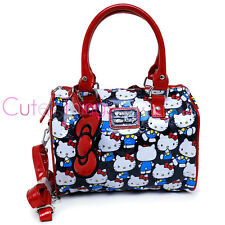 Sanrio Hello Kitty Mini City Hand Bag Shoulder Satchel Vintage Print Loungefly
