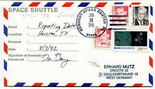1996 Space Shuttle Kennedy Space Center FL Erhard Mutz Droote 50 Dortmund SIGNED