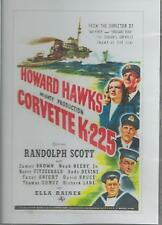 CORVETTE  K-225 RANDOLPH SCOTT   ALL REGION DVD