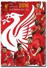 "2016 Liverpool F.C. Fridge Magnet Collectible Size 2.5""x 3.5"""