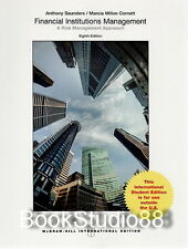 NEW 3 Days US Financial Institutions Management 8E Saunders Cornett 8th Edition
