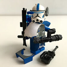 Lego Star Wars Custom 501. ARC Clone Trooper Echo + Custom Mini Gun & Equipment