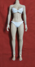 "1:6 Scale White Bikini Sets Female Clothing Figure Accessories Fit 12"" Girl Body"