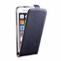 iDefend Genuine Leather Flip Black Case Cover For Various Apple iPhone Models