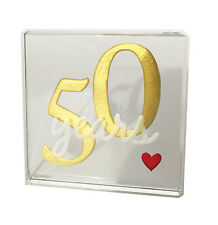 Spaceform 50th Golden Gold Wedding Anniversary Gifts 50 Years Of Love 1951