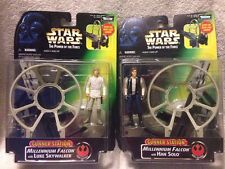 Star Wars Millineum Falcon Gunner Station Han Solo Luke Skywalker POTF 1997