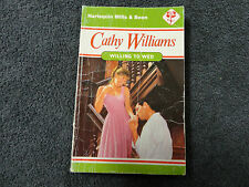 WILLING TO WED  BY  CATHY WILLIAMS ( MILLS & BOON - VINTAGE )