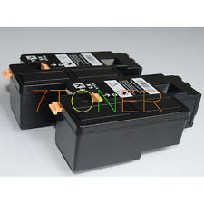 2 x Black Toner Cartridges For Xerox Phaser 6010 6000 Workcentre 6015 106R01634